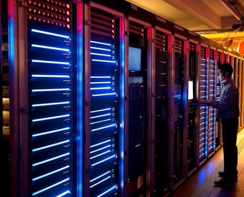 In building servers
